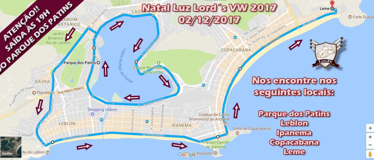Link permanente para: Carreata Natal Luz Lord´s VW 2017 (02/12/2017)