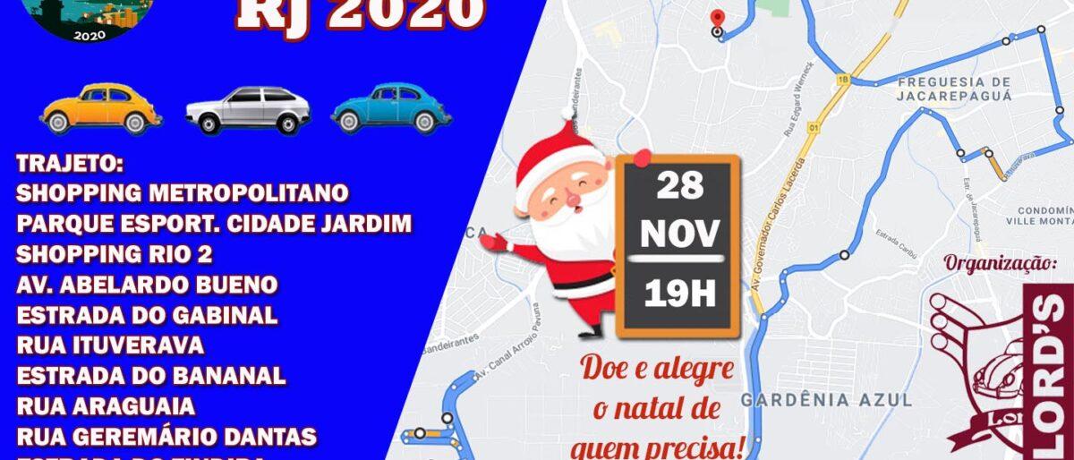 Link permanente para: 28/11/2020 – Carreata Natal Luz Lord´s VW